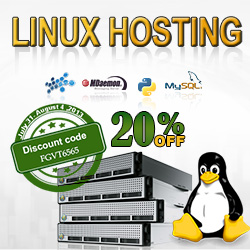 special discount for providing the Linux web hosting